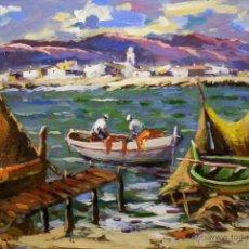 Arte: ÓLEO SOBRE TABLA RAFAEL SIMARRO. Lote 43484985