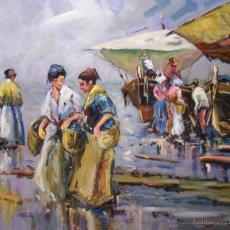 Arte: ÓLEO SOBRE TABLA RAFAEL SIMARRO. Lote 43485014