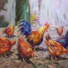 Arte: ÓLEO SOBRE TABLA RAFAEL SIMARRO. Lote 43485163