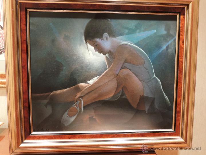 OLEO SOBRE LIENZO DE JULIAN MOMOITIO (Arte - Pintura - Pintura al Óleo Contemporánea )
