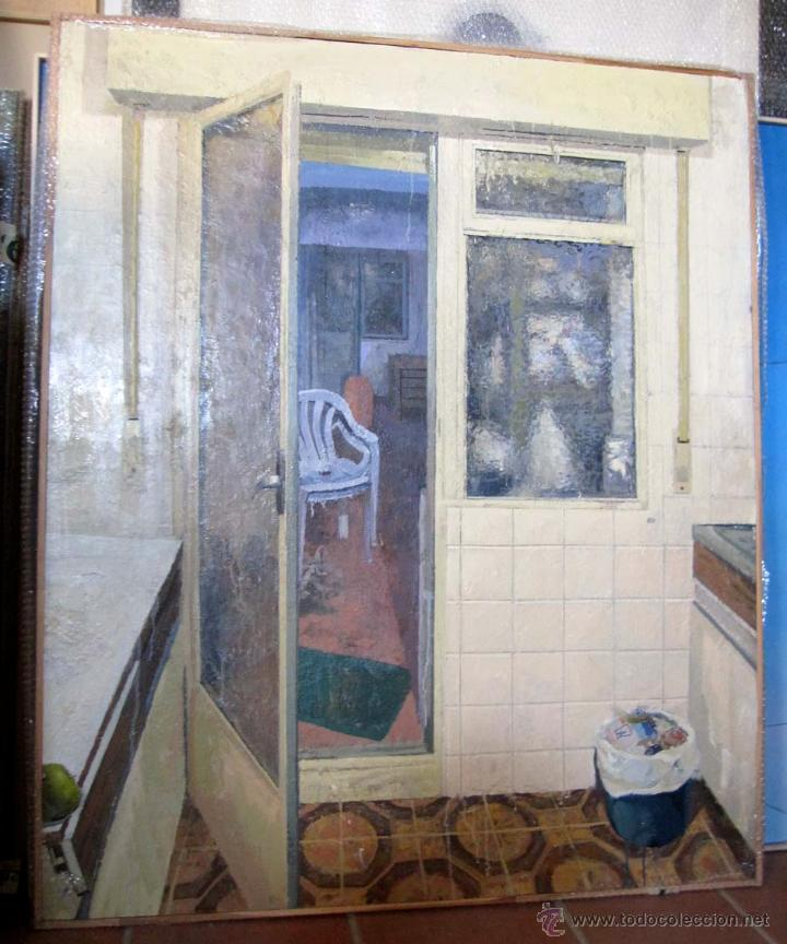 Pintura realista contempor nea paisaje escena d comprar - Oferta pintura interior ...