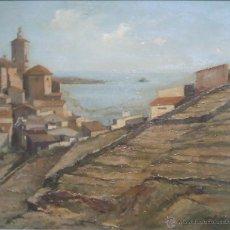 Arte: ANDREU FONTS NOGUÉS. PINTOR, DIBUJANTE Y GRABADOR NACIDO EN BARCELONA EN 1898. Lote 43745454