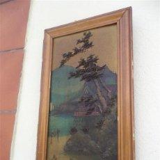 Arte: PINTURA ORIENTAL EN TABLA. Lote 43750412