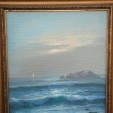 Arte: ÓLEO S/LIENZO. FIRMADO -ROGER-. DIMENSIONES.- 59X51,250 CMS.. Lote 43777387