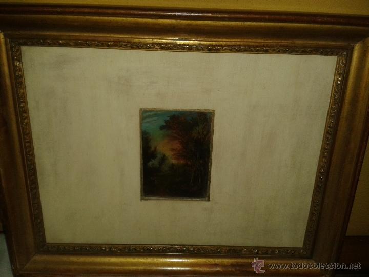 Arte: Miniatura al oleo s XIX. - Foto 2 - 43843947