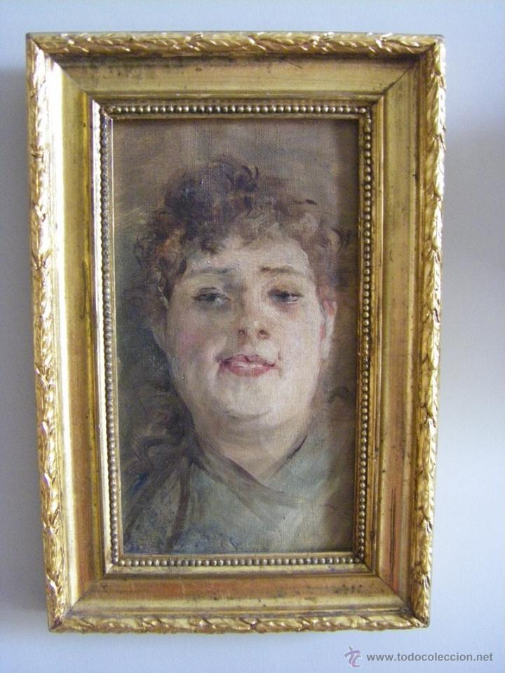Leo retratro de se ora del pintor valenciano vendido - Pintor valenciano ...
