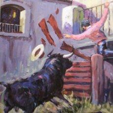 Arte - Óleo sobre tabla Rafael Simarro - 43993883
