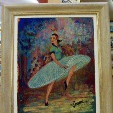Arte: PINTURA AL OLEO FIRMADO 1965. Lote 44022956