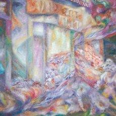 Arte: L'ALTRANGE. JEAN FRANÇOIS GALL (PARIS, 1948) GRITO EN LA NOCHE DEL MIEDO. Lote 44139333