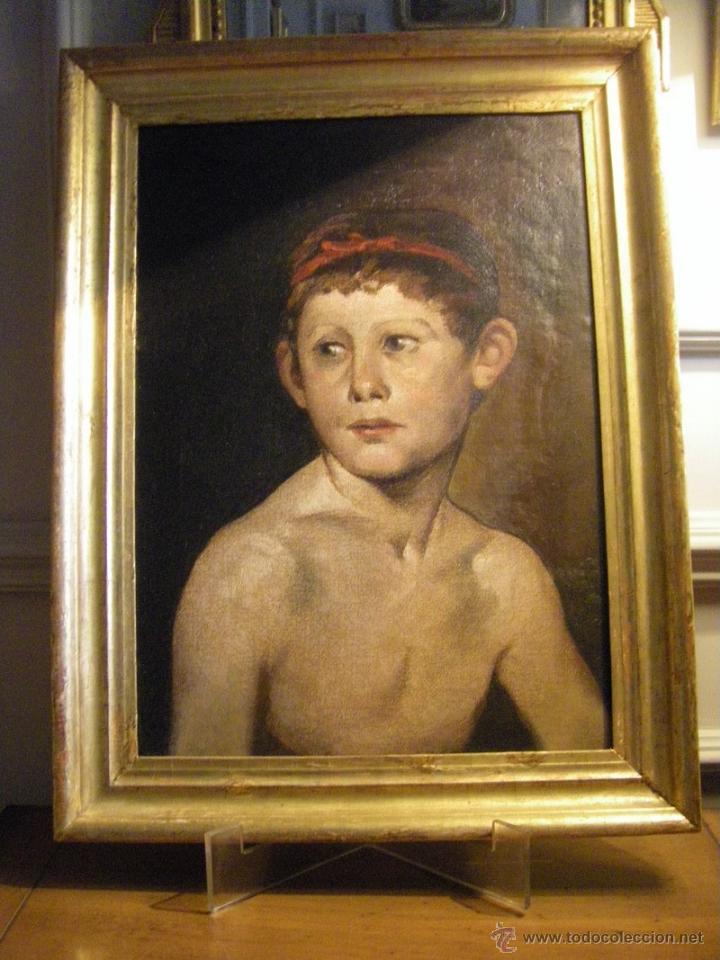 Leo retrato de un ni o pintor valenciano juli vendido - Pintor valenciano ...