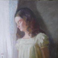 Arte: PENSAMIENTOS, NIEVES, POR PASCUAL BUENO FERRER (BARCELONA 1930). Lote 44231231