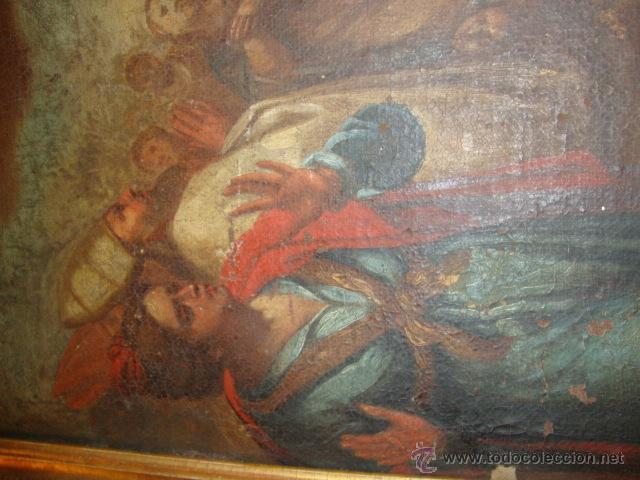 Arte: Oleo sobre lienzo siglo XVII - Foto 4 - 44306447