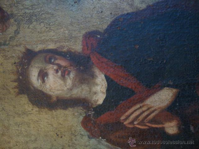 Arte: Oleo sobre lienzo siglo XVII - Foto 6 - 44306447