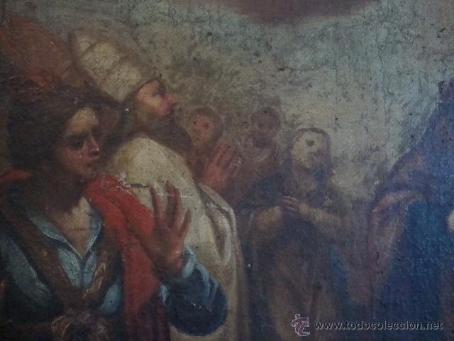 Arte: Oleo sobre lienzo siglo XVII - Foto 9 - 44306447