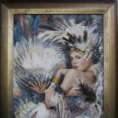 Arte: JUAN IZQUIERDO-CARNAVAL EROTICO. Lote 44349169