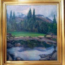 Arte: MATEO BALASCH (1870-1936). PAISAJE. Lote 44432908