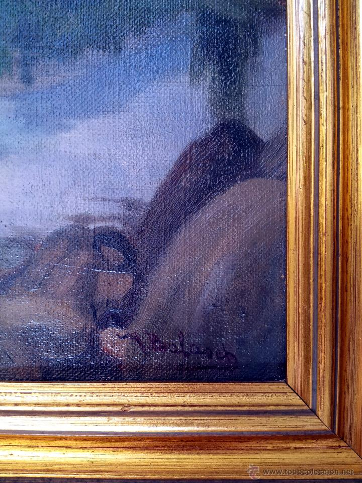 Arte: Mateo Balasch (1870-1936). Paisaje - Foto 3 - 44432908
