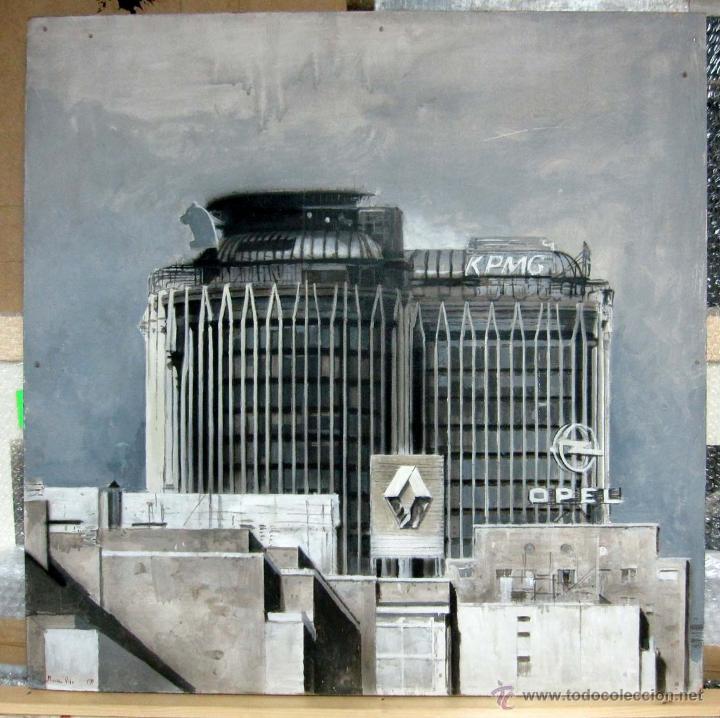 pintura figurativa contemporánea paisaje urbano - Comprar Pintura ...