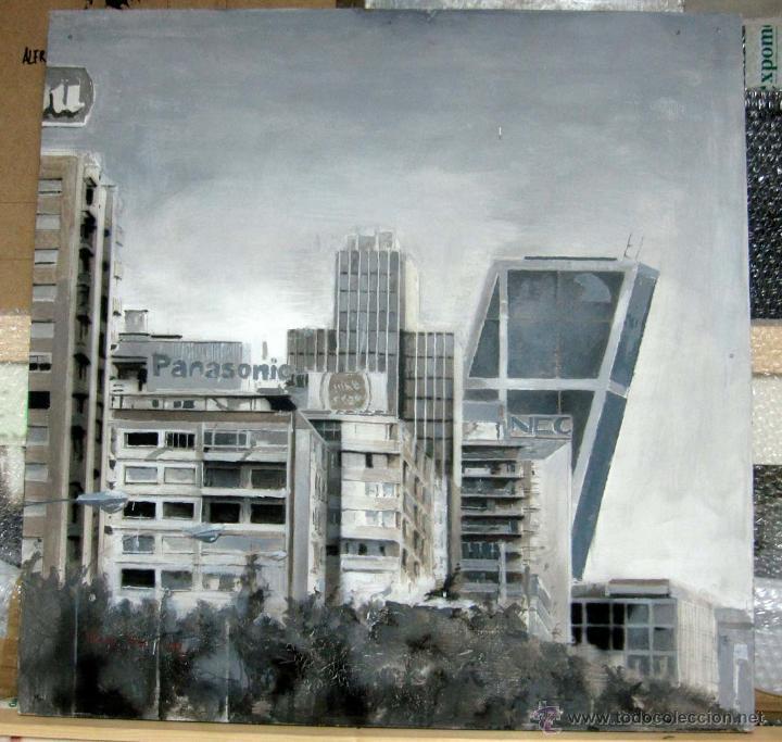 Pintura figurativa contemporánea paisaje urbano - Vendido en Venta ...