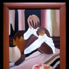 Arte: HERMOSA MUJER- M. GALLARDO ¡OFERTA!. Lote 44455846