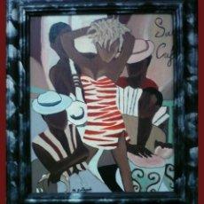 Arte: SALSA CAFE - M.GALLARDO ¡OFERTA!. Lote 44455904