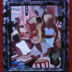 Arte: CAFE PIANO - M. GALLARDO ¡OFERTA!. Lote 44455959