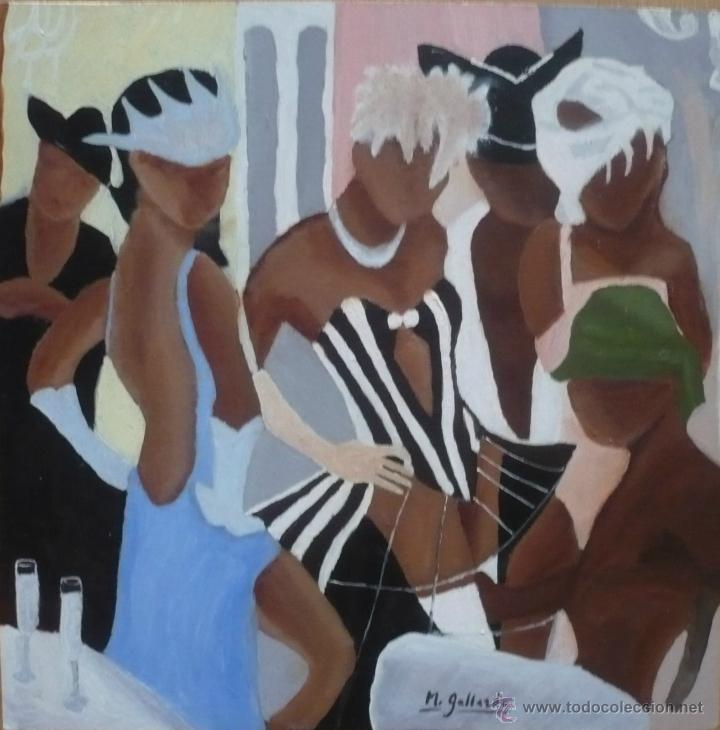 MASCARAS - M.GALLARDO ¡OFERTA! (Arte - Pintura - Pintura al Óleo Contemporánea )