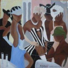 Arte: MASCARAS - M.GALLARDO ¡OFERTA!. Lote 44455995