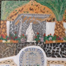 Arte: ALPUJARRA BERCHULES,ACRÍLICO SOBRE TABLA 30X40 CM. DE CRESPO. Lote 44461174