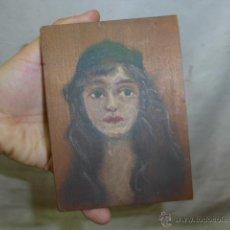 Arte: OLEO SOBRE TABLA A DOBLE CARA, ANONIMO. . Lote 44466983