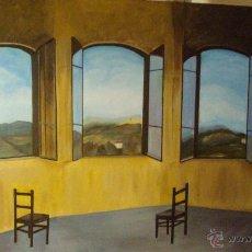 Arte: LIENZO PINTADO AL ÓLEO. 65 X 50 CMS.. Lote 44620743