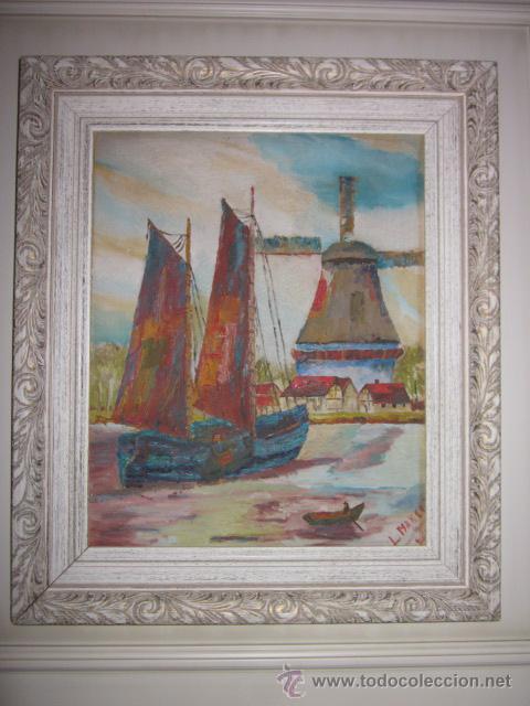 CUADRO OLEO IMPRESIONISTA FIRMADO (Arte - Pintura - Pintura al Óleo Contemporánea )