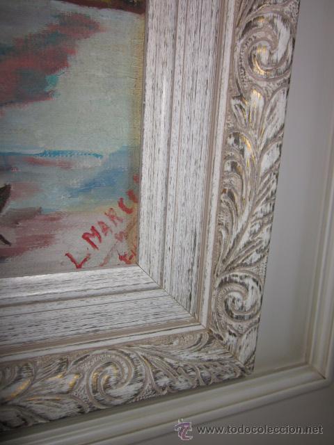 Arte: cuadro oleo impresionista firmado - Foto 6 - 44771203