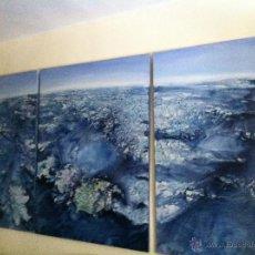 Arte: EXCEPCIONAL TRIPTICO PLANETA AGUA. Lote 44922392