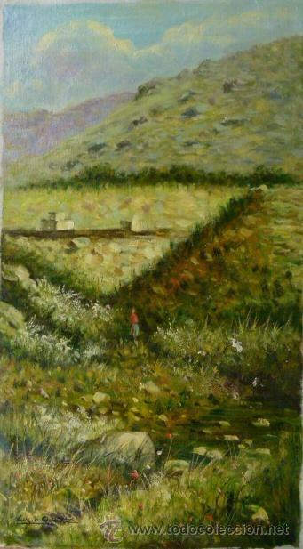 PINTURA AL OLEO FIRMADA LUCIO QUINTA (Arte - Pintura Directa del Autor)