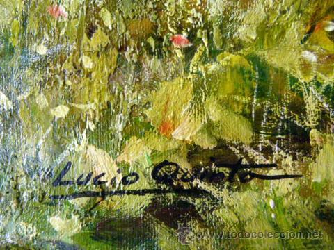 Arte: Pintura al oleo firmada Lucio Quinta - Foto 6 - 45023641