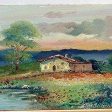 Arte: BONITO OLEO FIRMADO BELMER. Lote 45023816