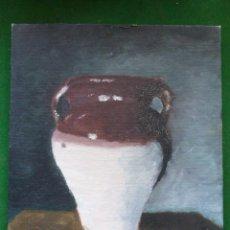 Arte: OLEO SOBRE TABLA 27 X 22 CM. Lote 45098280