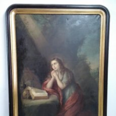 Arte: ÓLEO LIENZO JOSÉ MARÍA ROMERO Y LÓPEZ ( 1815 - 1880 ). Lote 45208491