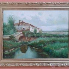 Arte: JOSEP MARIA VAYREDA CANADELL (1932-2001) - OLEO SOBRE TABLA - ENMARCADO 47 X 38. Lote 45221596