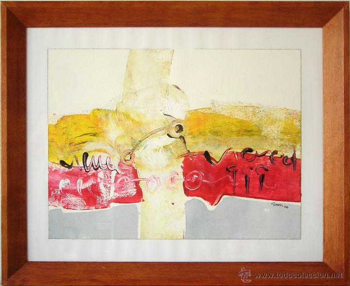 bernardo guerra - cuadro abstracto, acrílico so - Comprar Pintura al ...