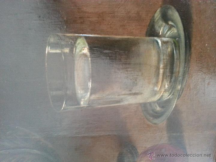 Arte: Cuadro, pintura; Bodegón; oleo sobre tabla, - Foto 5 - 45259067