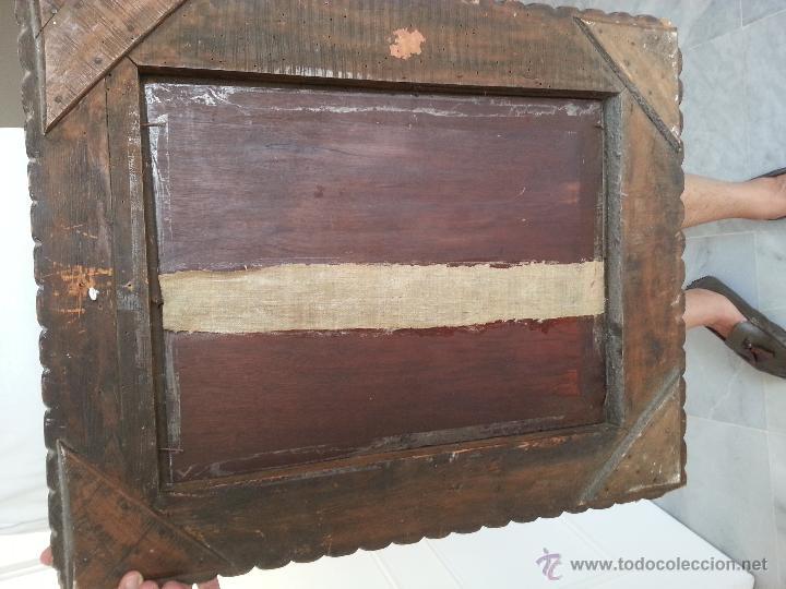 Arte: Cuadro, pintura; Bodegón; oleo sobre tabla, - Foto 6 - 45259067