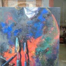 Arte: SIN TITULO. PALETA DE ARTISTA. Lote 45335155