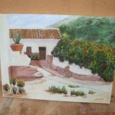 Arte: CUADRO ORIGINAL PINTADO A MANO. Lote 45479191