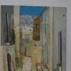Arte: ÓLEO SOBRE LIENZO PAISAJE A. LUZZY 1921-2001 - ABC 045. Lote 43427365