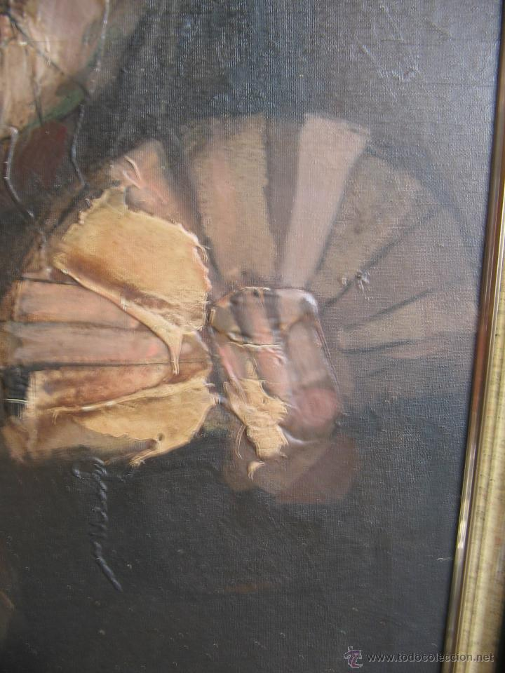 Arte: Juan Manuel Gutiérrez Montiel ( Jerez 1934 - Tres Cantos 2008 ). Técnica mixta/lienzo. 96 x 76 cmtrs - Foto 4 - 45514171