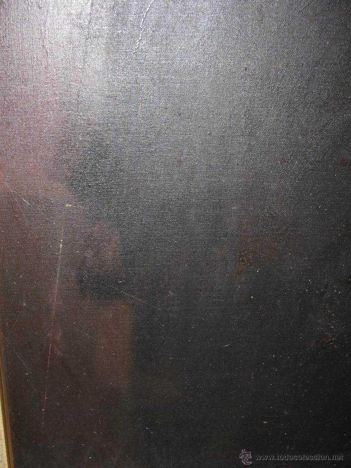 Arte: Juan Manuel Gutiérrez Montiel ( Jerez 1934 - Tres Cantos 2008 ). Técnica mixta/lienzo. 96 x 76 cmtrs - Foto 7 - 45514171