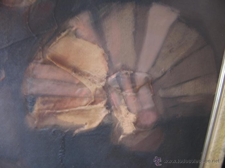 Arte: Juan Manuel Gutiérrez Montiel ( Jerez 1934 - Tres Cantos 2008 ). Técnica mixta/lienzo. 96 x 76 cmtrs - Foto 23 - 45514171