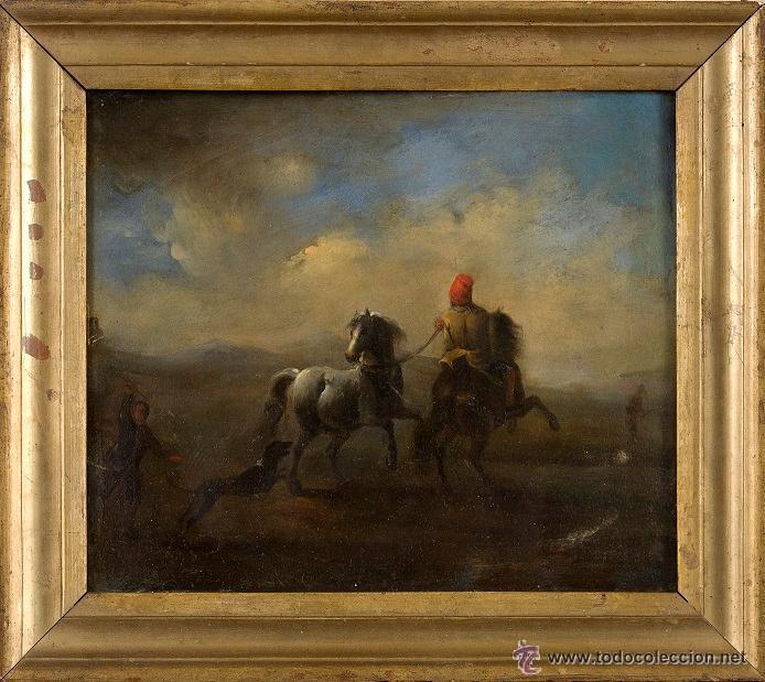 OLEO SOBRE COBRE SIGLO XVII-XVIII (Arte - Pintura - Pintura al Óleo Antigua siglo XVII)